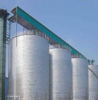 Galvanized Steel sheet made Storage Silo bolted silo or spiral silo