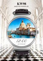 Smartwatch with sim card gps wifi long battery life Kingwear KW98