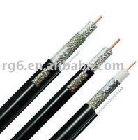 0.48AWG Bare Copper/Copper Clad Steel TC Audio Video VGA rg174 coaxial cable