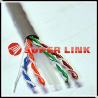 Lan cable manufacturer customized cat6 FTP ethernet cable with rip cord