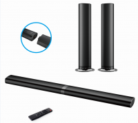 70W Detachable 2.0 TV Soundbar