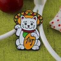Lapel Pins for Maneki Neko