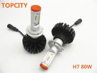 Beloved led headlights highest quality lighting competitive price H7 80W led car headlights