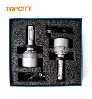 Topcity  High quality auto led headlamp H4 60W car cob led headlight