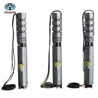 China Supply 400V Three Phase Stainless Steel Deep Well Submersible Pump