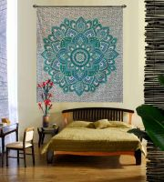 Flower Ombre Hippie Wall Hanging Tapestry