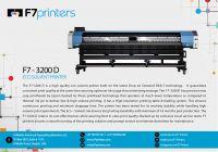 F7 Eco Solvent Printer