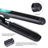 CNV Flat Iron, Steam Hair Straightener, Hair Flat Iron Straightener with STEAM Technology & 5D heating Teeth