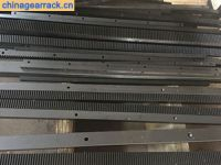 china steel C45 quenched and tempered gear rack