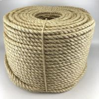 100% Raw Natural Sisal Fiber, Rope