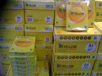 IK Yellow Copy Paper 80gsm