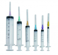 Medical disposable Syringe with Needle for human and  animal use
