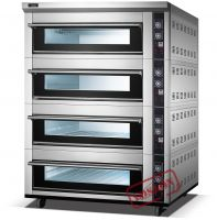 High temperature double deck oven/rotating deck ovens for sale