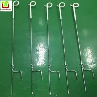 Lydite Step in Pigtail Post Spring steel fence post with pigtail insulator