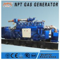 Silent 400 kw generator natural gas to generate electricity