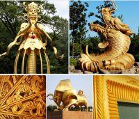 Water based Buddha gold
