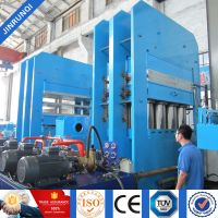 rubber compression press machine\ plate rubber vulcanizing press