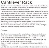 SanJi-First Cantilever Rack