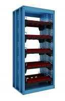 SanJi-First CNC Tool Cabinet,Large capacity with 10PCS Tool holder ,Blue+Gray+ Red  Color optional,Can be customized