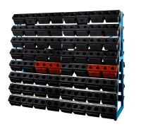 SanJi-First CNC Tool Rack,Double oblique Large capacity, safe placement,Blue  Can be customized