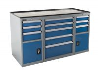 SanJi-First Multifunction Tool cabinet and Black top cover, Three cabinets in one