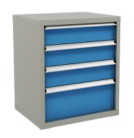 SanJi-First Multifunction Tool cabinet ,Blue+Gray+ Red Bearing A/B�tabletop optional,Can be customized�
