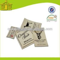 High Density Customized Design Apparel Printing Label For Pantsuits