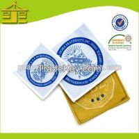 Fashion Merrowed Garment Rhinestone Private Design Badge