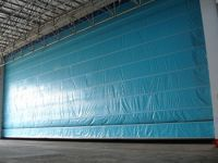 Safety reinforced Flexible door HSD-056