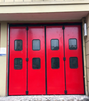 Industrial folding door