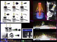 Kgkin 8000lm S2 led headligh 50w car LED Headlight auto parts H4 Car LED Headlight H1 H11 880 H3