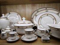 bone china tableware , ceramic tableware , fine bone china