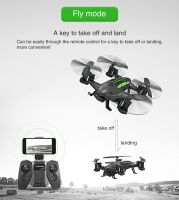 Rc Drone 2.4ghz Off Road Flying Car Remote Control Quadcopter With Wifi Camera And Altitude Hold Function Battery Included