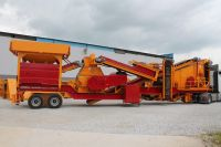 FULLY AUTOMATIC NEW GENERATION MOBILE TERTIARY CRUSHER 75-150 T/H