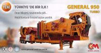 New System Crushing and Screening Plant, with 150-240 t/h capacity from General Makina - Turkey