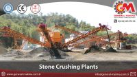150-500 TPH Stationary Stone Crushing and Screening Plant from General Makina