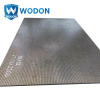 Chromium Carbide Overlay Cladding Plate