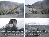 Hard stone crushing machine
