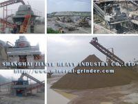 Gravel- making machinery