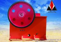 Barite jaw crusher