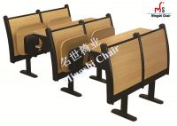 Classroom Chair School Furniture with Folding Table