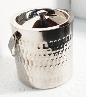 Graminheet Stainless Steel Ice Bucket 1500ml with Hummer Crafted