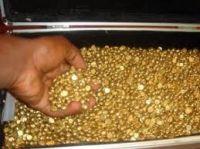 Gold NUGGETS &  BAR/COPPER
