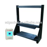 Multi-stage sensitivity metal detector at site or in control