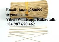 NATURAL BAMBOO STICKS FOR CLEAN THE TEETH, BBQ AND MAKING INCENSE