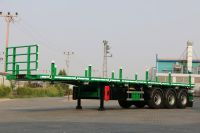 container carrier flatbed trailer
