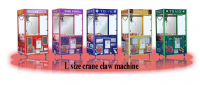 store and supermarket popular gift candy prize crane game machine