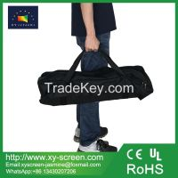 XY screen new design customized self-adhesive front and rear fast fold projection screen