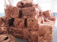 Clean copper scrap for immediate exportation