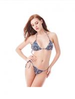I-Glam Color Print Sexy Women Brazilian Bikini Swimwear